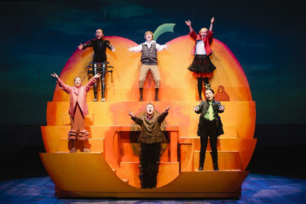 Tacoma Arts Live�s Conservatory Musical Theater productions of James and the Giant Peach Jr. Photo Credit: Lisa Monet Photography - image.