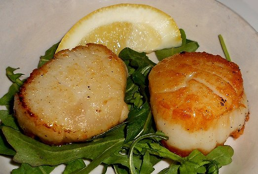 Scallops from Pacific Grill in Tacoma - image.
